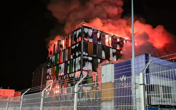 OVHcloud datacenter fire in Strasbourg